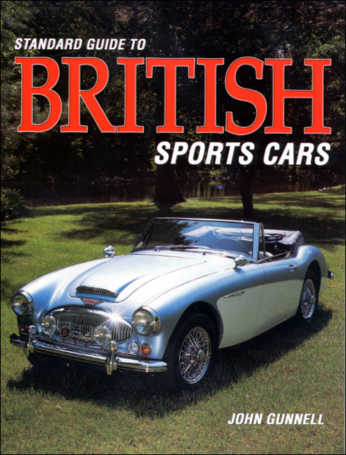 Standard Guide to British Sports Cars front cover