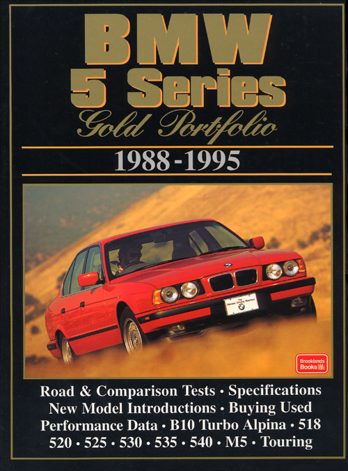 BMW 5 Series Gold Portfolio: 1988-1995  front cover