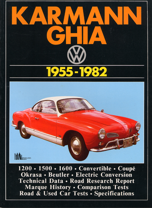 VW Karmann Ghia Gold Portfolio: 1955-1974