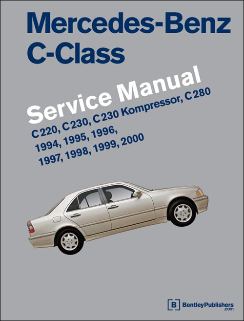Mercedes-Benz C-Class Service Manual: 1994-2000 front cover