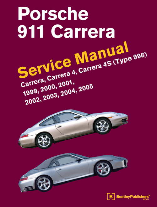 Porsche 911 Carrera (Type 996) Service Manual: 1999-2005 - front cover