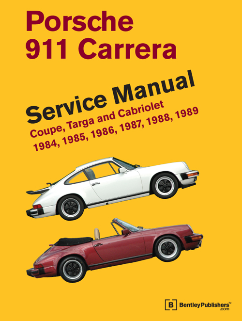 Porsche 911 Carrera Service Manual: 1984-1989 front cover