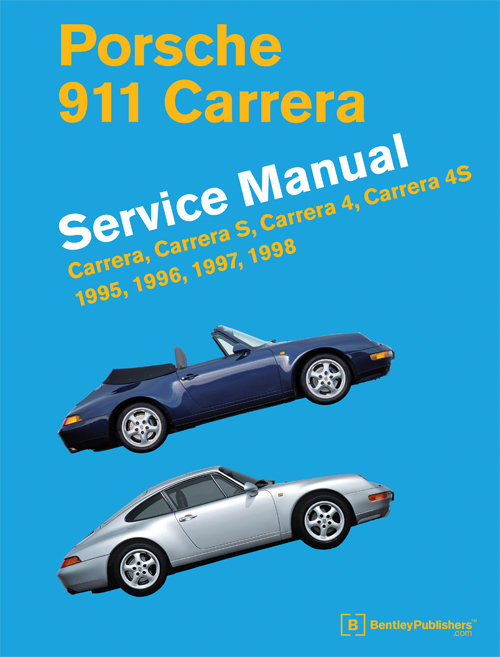 Porsche 911 Carrera (Type 993) Service Manual: 1995-1998 - front cover