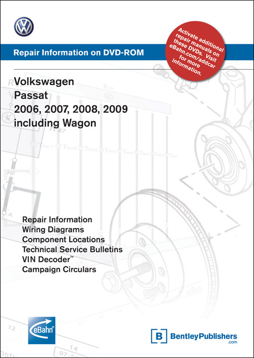 Volkswagen Passat: 2006 Repair Manual on CD-ROM front cover