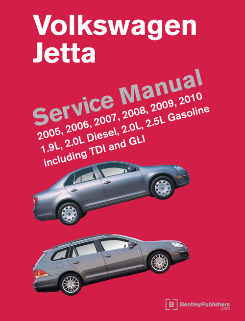 jpeg, Volkswagen Jetta (A5) Service Manual: 2005-2010 - front cover