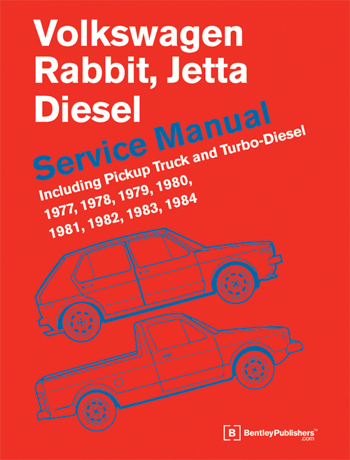 Volkswagen Rabbit, Jetta Diesel Service Manual: 1977-1984 front cover