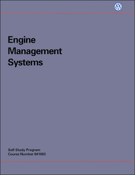 Volkswagen Engine Management Systems Technical Service Training Self-Study Program Front Cover