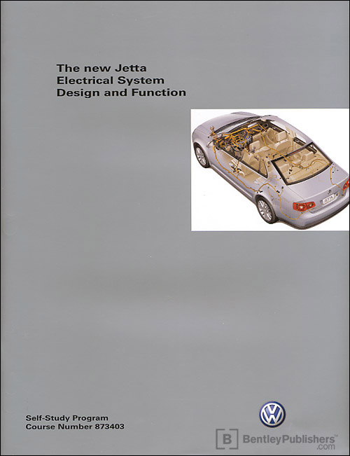 Volkswagen New Jetta Electrical System Technical Service Training Self-Study Program front cover