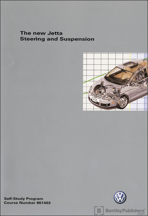 Volkswagen new Jetta Steering and Suspension Technical Service Training Self-Study Program front cover
