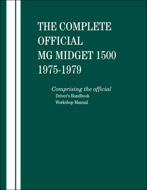 The Complete Official MG Midget 1500: 1975-1979 - front cover