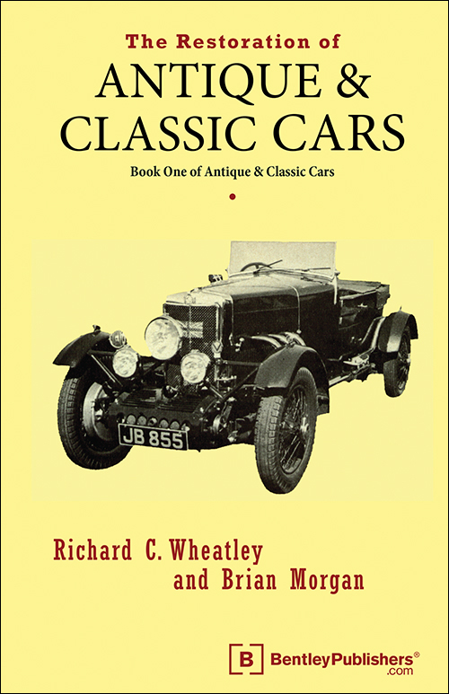 The Restoration of Antique and Classic Cars - front cover