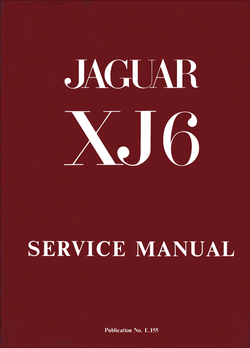 Jaguar XJ6 Series 1, 2.8 and 4.2 Service Manual: 1969-1973 front cover