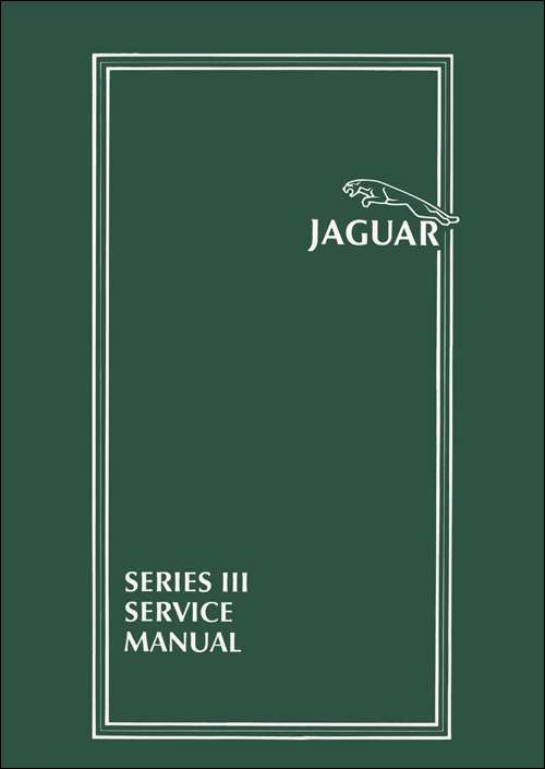 Jaguar XJ6/XJ12 Series 3 Workshop Manual: 1979-1987 Front Cover