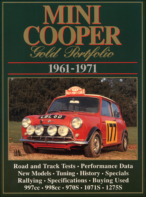 Mini Cooper Gold Portfolio: 1961-1971 front cover