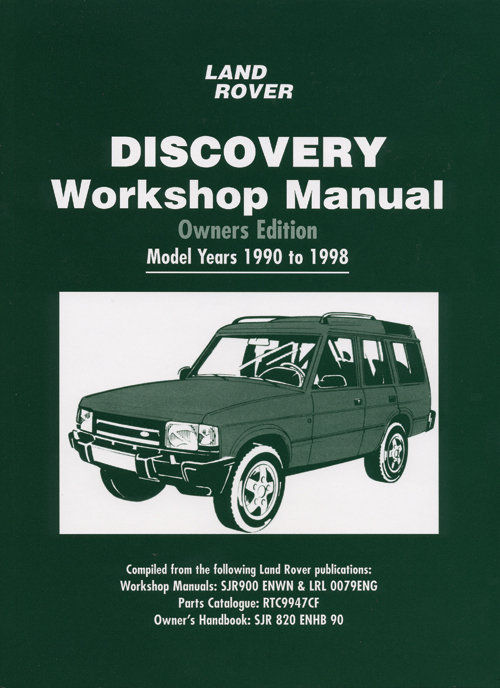 Front Cover Land Rover Discovery Workshop Manual Owners