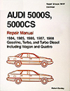 Audi 5000S, 5000CS: 1984-1988 Official Factory Repair Manual