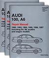 Audi<br />100, A6: 1992-1997<br />(Including the S4, S6, quattro and wagon)<br />Official Factory Repair Manual