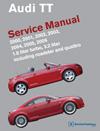 Audi TT:<br/>2000, 2001, 2002,<br/>2003, 2004, 2005, 2006<br> Service Manual