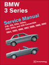 BMW 3 Series (E30)<br/>Service Manual:<br/>1984, 1985, 1986, 1987,<br/>1988, 1989, 1990