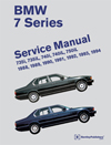 BMW 7 Series (E32) Service Manual:<br/>1988, 1989, 1990, 1991,<br/>1992, 1993, 1994