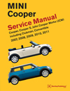 MINI Cooper (R55, R56, R57)<br/>2007, 2008, 2009, 2010, 2011:<br/>Service Manual