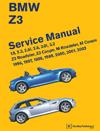 BMW Z3 Service Manual:<br/>1996, 1997, 1998, 1999,<br/>2000, 2001, 2002