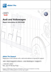 eBahn Pro: <br/>Audi and Volkswagen<br/>Repair Manuals on DVD-ROM