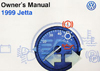 Volkswagen Jetta (A3) Owner's Manual: 1999