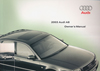 Audi A8 Owner's Manual: 2003