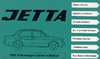 Volkswagen  Jetta Owner's Manual: 1980