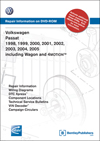 Volkswagen Passat<br>1998, 1999, 2000, 2001<br>2002, 2003, 2004, 2005<br>including Wagon and 4Motion<br>Repair Manual on DVD-ROM