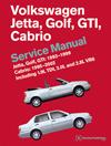 Volkswagen Jetta, Golf, GTI: 1993,<br/>1994, 1995, 1996, 1997, 1998, 1999<br/>Cabrio: 1995, 1996, 1997, 1998,<br/>1999, 2000, 2001, 2002<br/>(A3 Platform) Service Manual