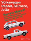 Volkswagen Rabbit, Scirocco, Jetta (A1) Gasoline Service Manual:<br>1980, 1981, 1982, 1983, 1984