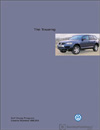 Volkswagen Touareg<br />Technical Service Training<br />Self-Study Program