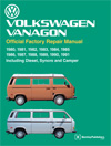 Volkswagen Vanagon (T3)<br/>Official Factory Repair Manual:<br/>1980, 1981, 1983, 1983, 1984, 1985,<br/>1986, 1987, 1988, 1989, 1990, 1991