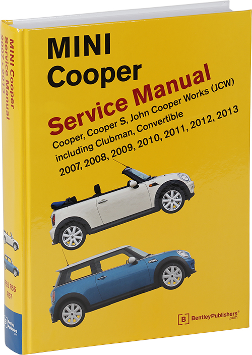 front cover mini cooper service manual 2007 2013. Black Bedroom Furniture Sets. Home Design Ideas