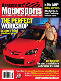 Grassroots Motorsports - June 2009 - cover