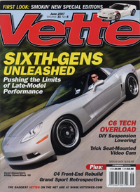 Vette Magazine June 2007 - cover