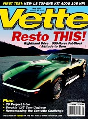 Vette Magazine may 2007 - cover