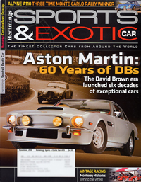 Hemmings Sports & Exotic Car - November 2008 - cover