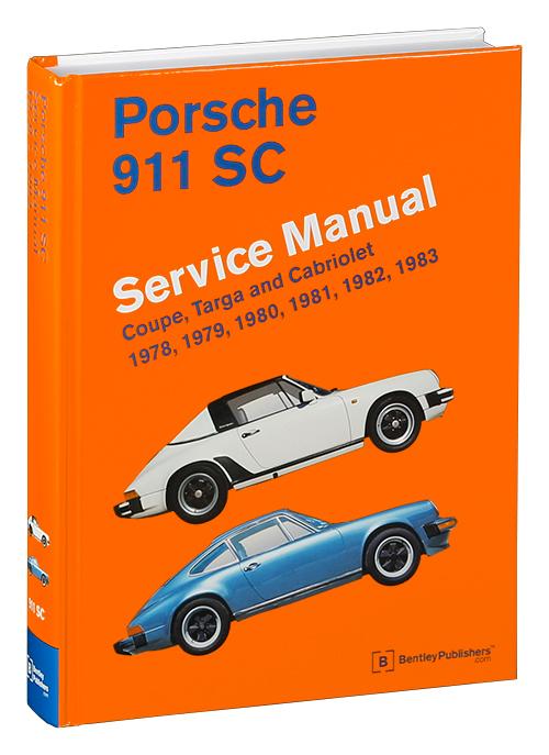 front cover porsche repair manual 911 sc coupe targa. Black Bedroom Furniture Sets. Home Design Ideas