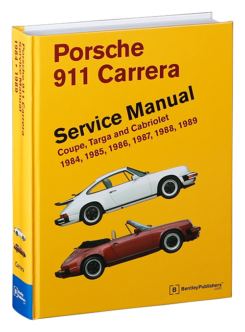 front cover porsche repair manual 911 carrera coupe. Black Bedroom Furniture Sets. Home Design Ideas